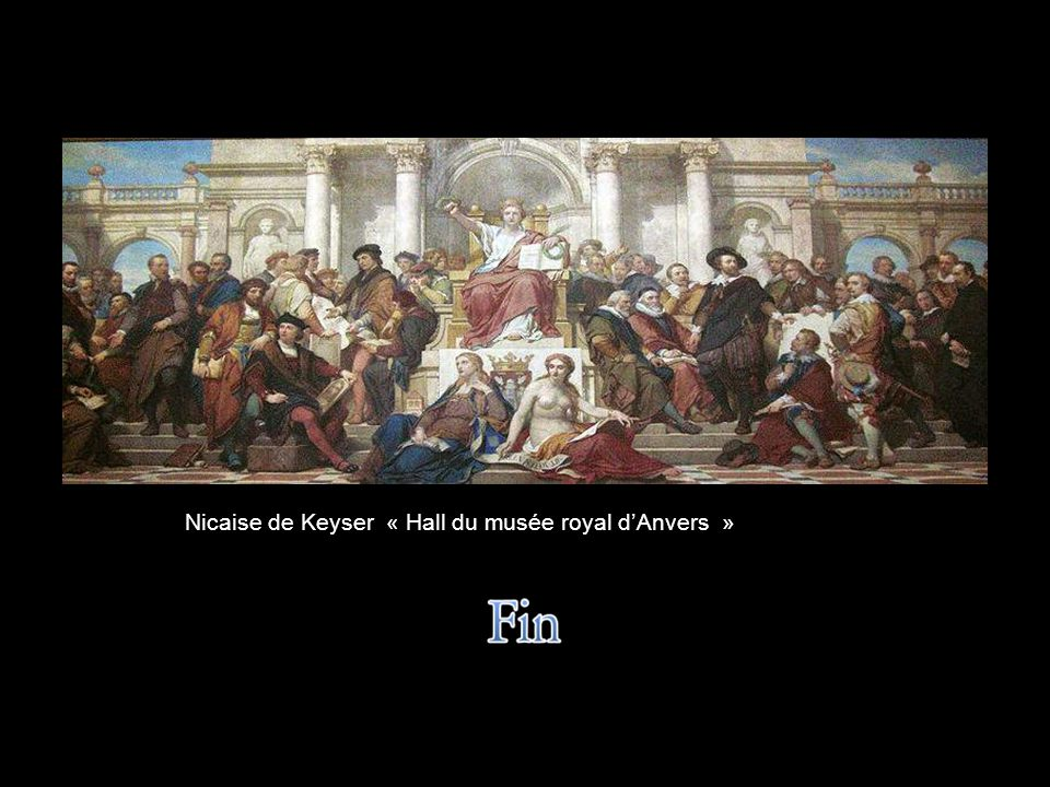 Nicaise de Keyser « Hall du musée royal d'Anvers »