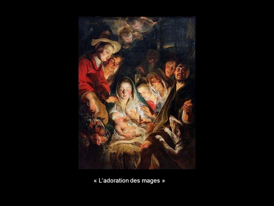 « L'adoration des mages »
