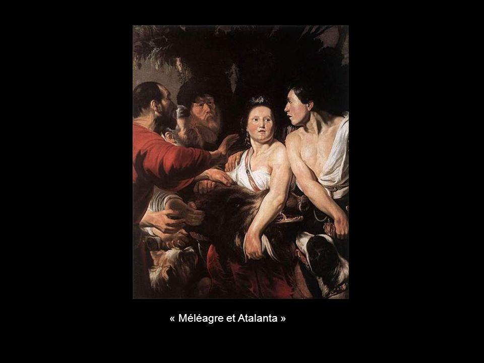 « Méléagre et Atalanta »