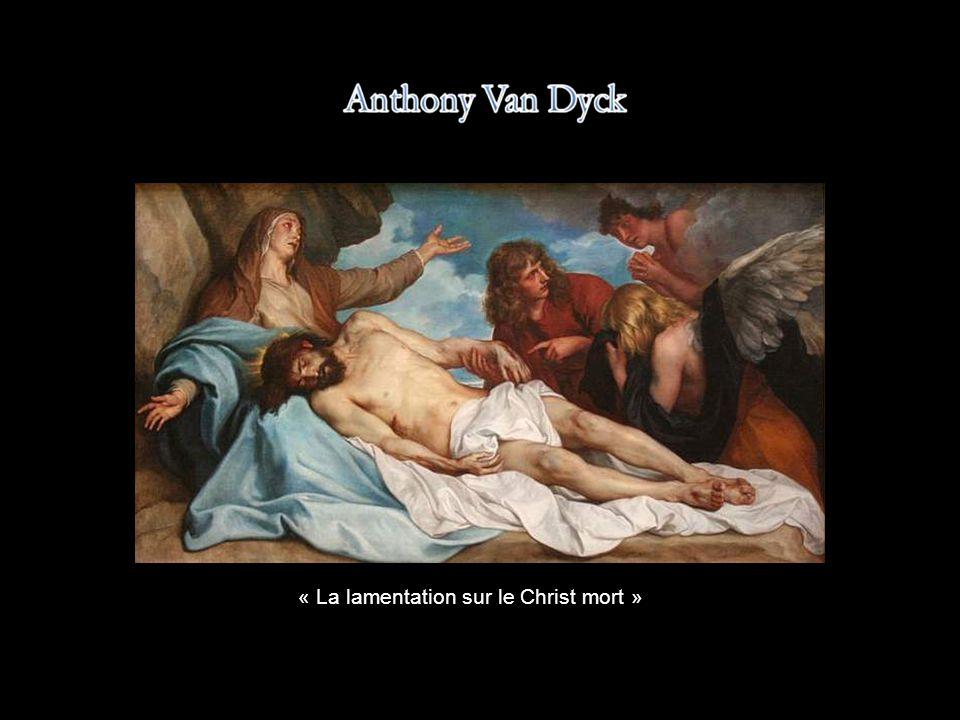 « La lamentation sur le Christ mort »