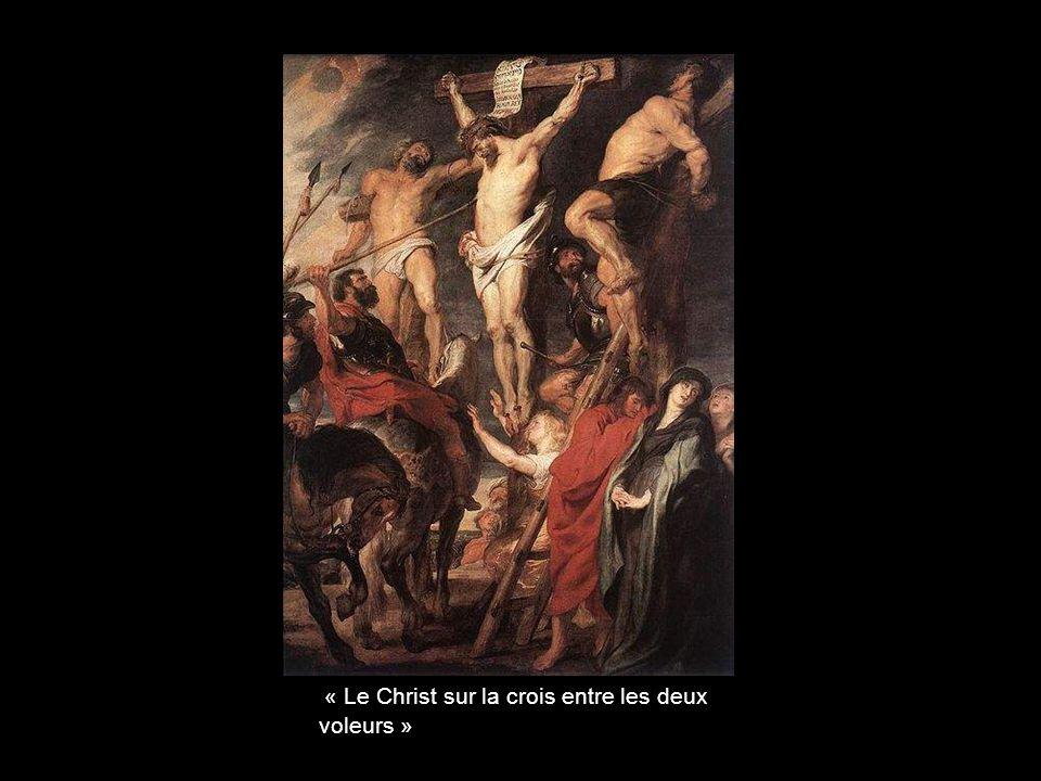 « Le Christ sur la crois entre les deux voleurs »