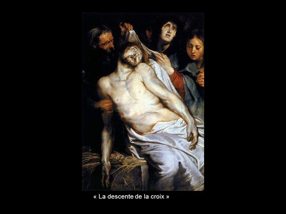« La descente de la croix »