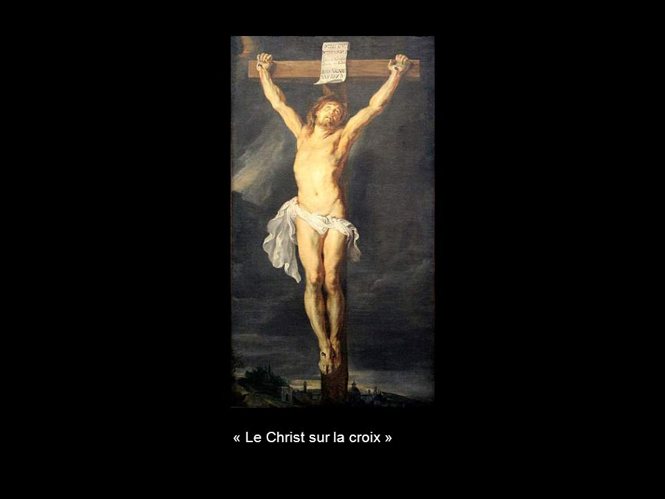 « Le Christ sur la croix »