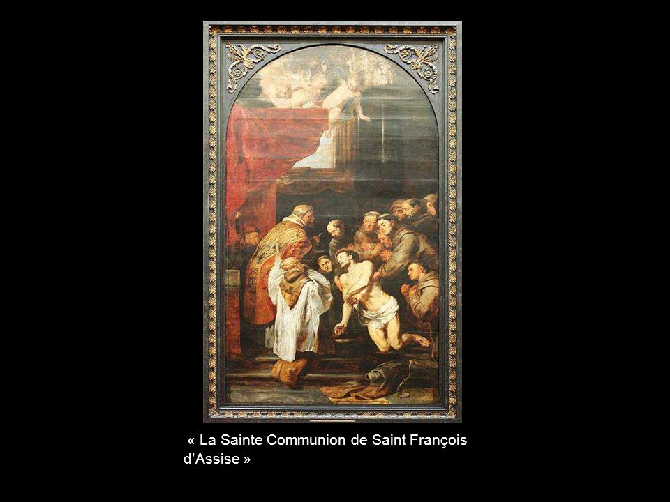 « La Sainte Communion de Saint François d'Assise »