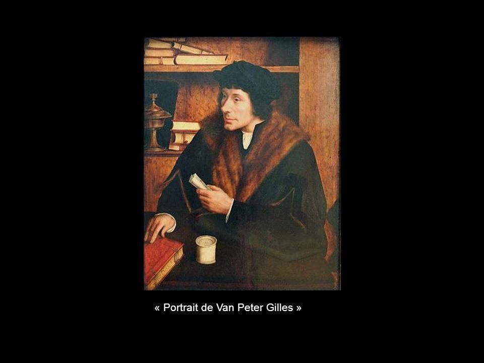 « Portrait de Van Peter Gilles »