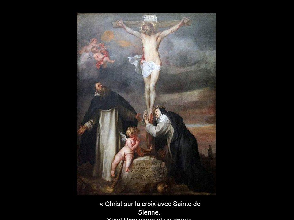 « Christ sur la croix avec Sainte de Sienne,