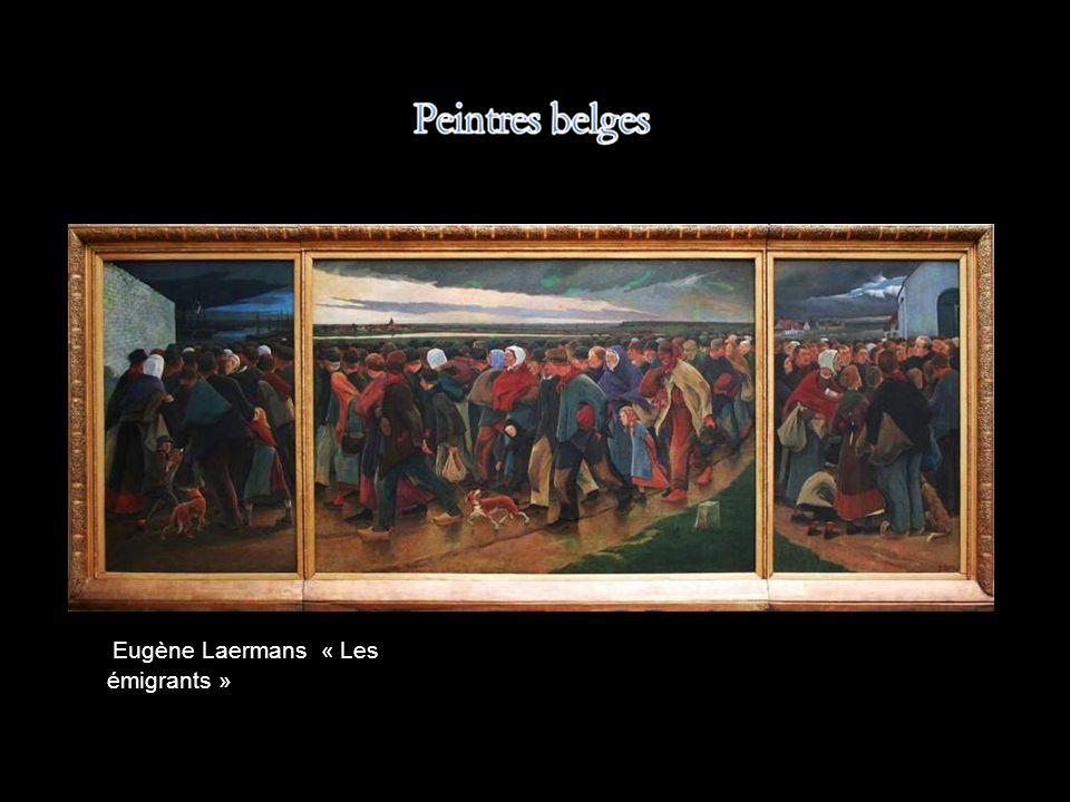 Eugène Laermans « Les émigrants »
