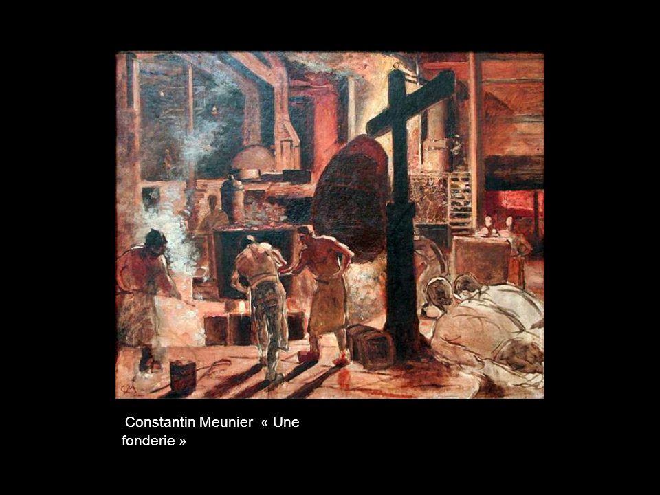 Constantin Meunier « Une fonderie »