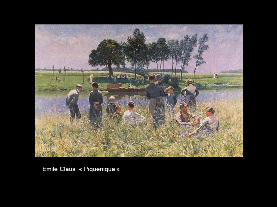 Emile Claus « Piquenique »