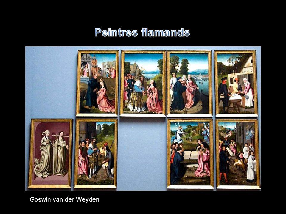 Peintres flamands Goswin van der Weyden