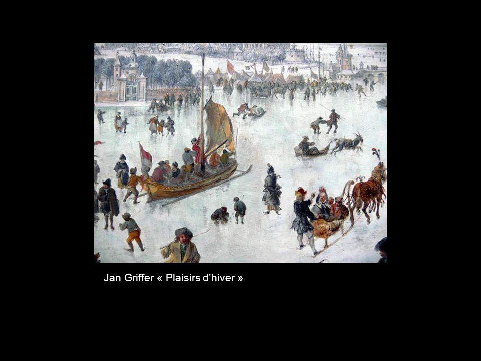 Jan Griffer « Plaisirs d'hiver »