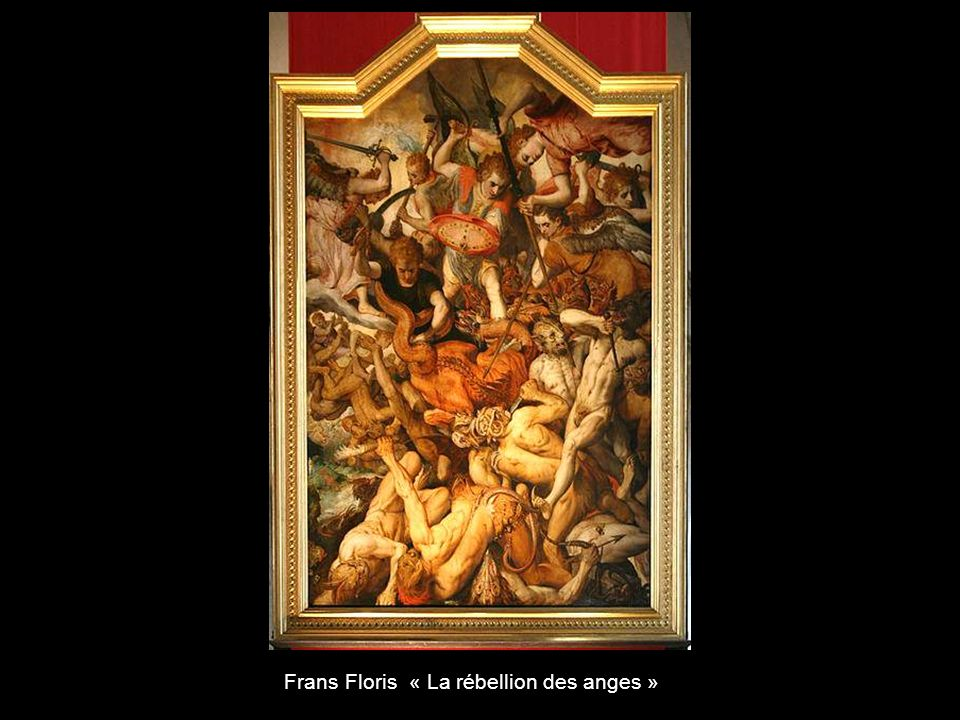 Frans Floris « La rébellion des anges »