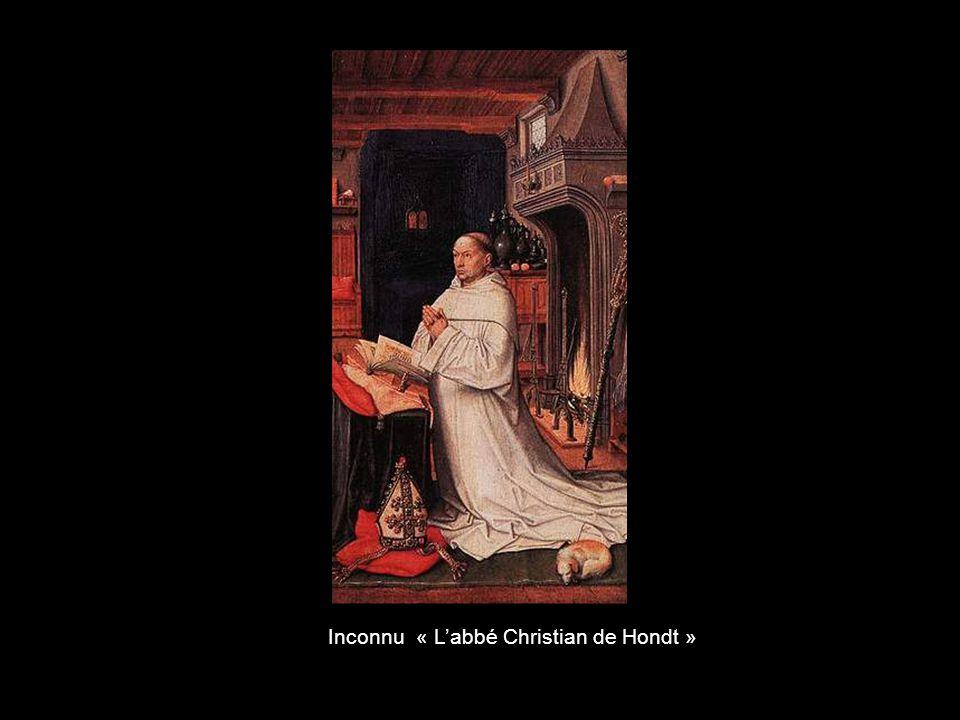 Inconnu « L'abbé Christian de Hondt »