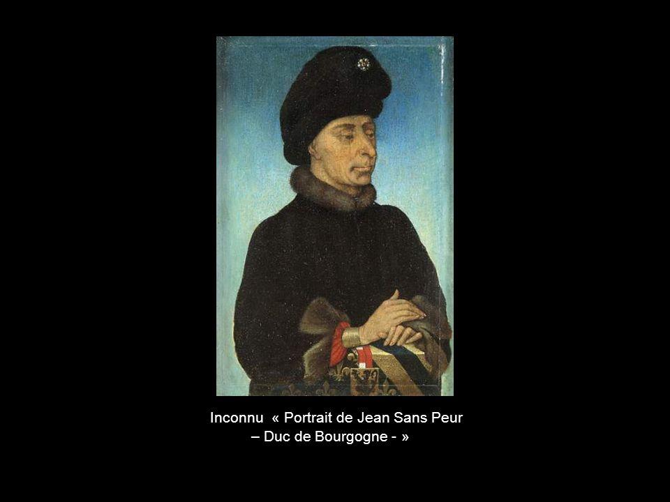 Inconnu « Portrait de Jean Sans Peur
