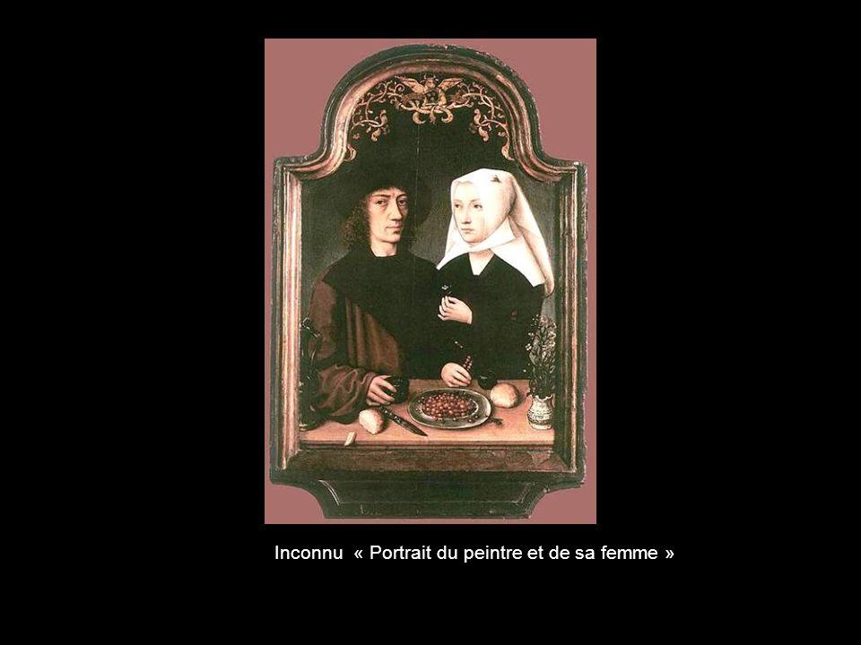 Inconnu « Portrait du peintre et de sa femme »