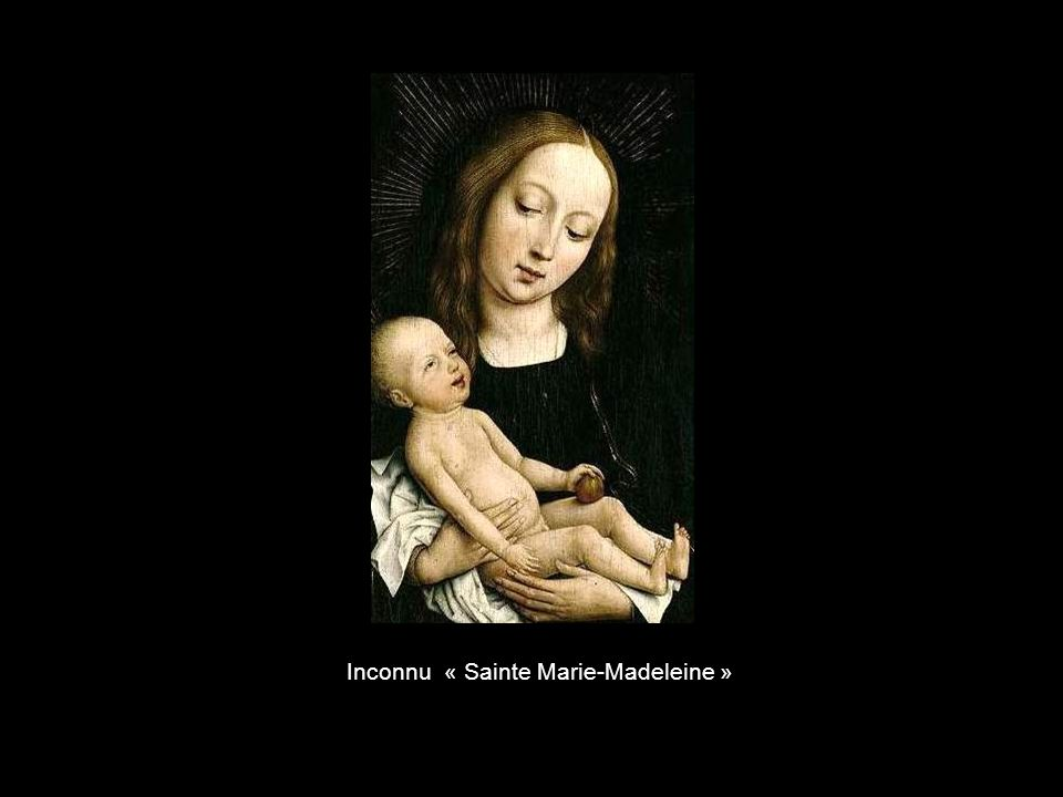 Inconnu « Sainte Marie-Madeleine »