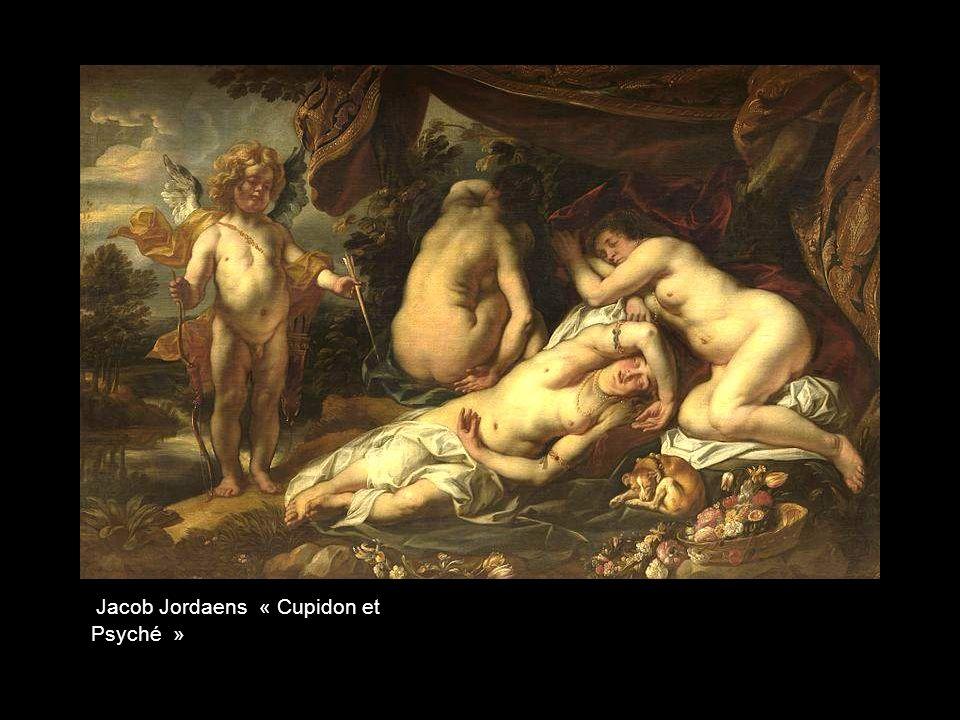 Jacob Jordaens « Cupidon et Psyché »