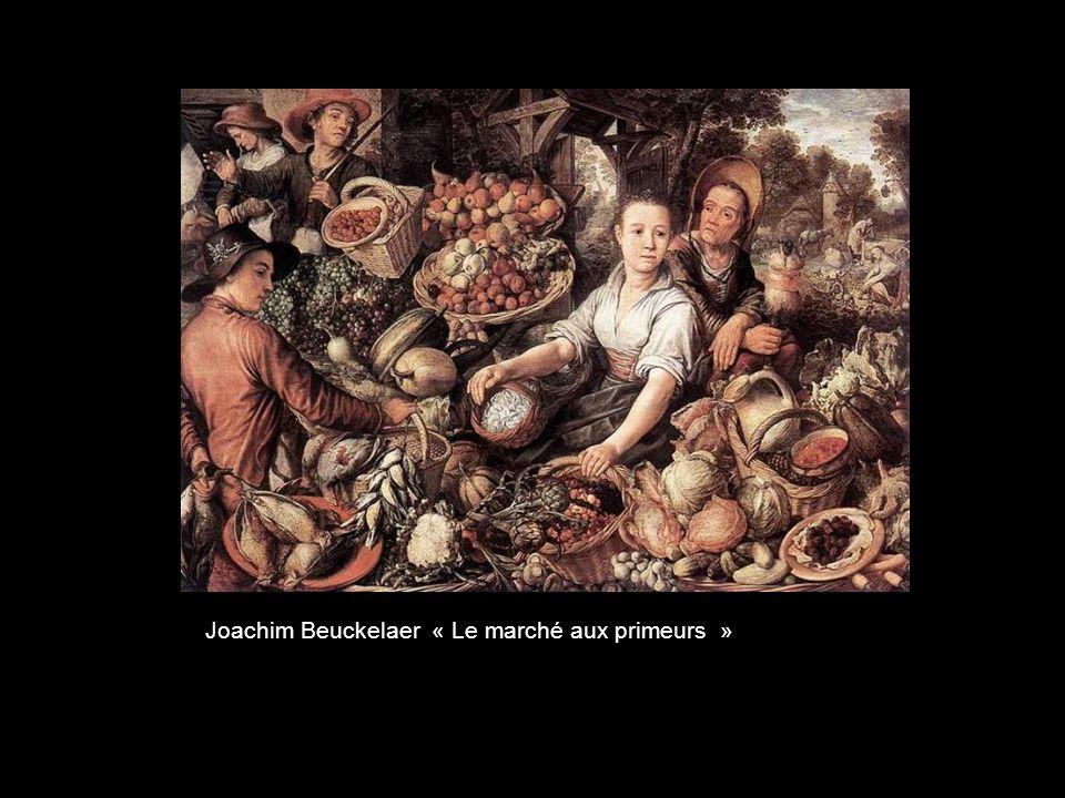 Joachim Beuckelaer « Le marché aux primeurs »