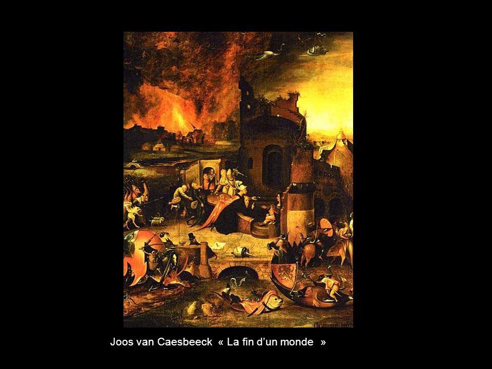 Joos van Caesbeeck « La fin d'un monde »