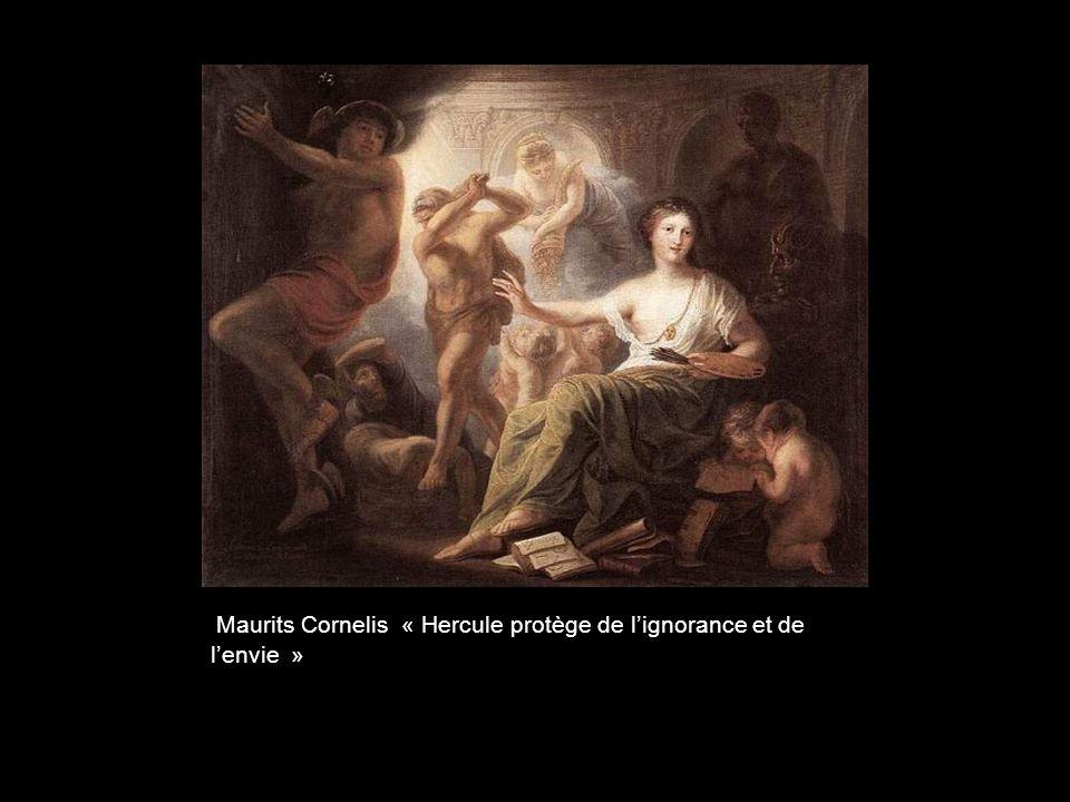 Maurits Cornelis « Hercule protège de l'ignorance et de l'envie »