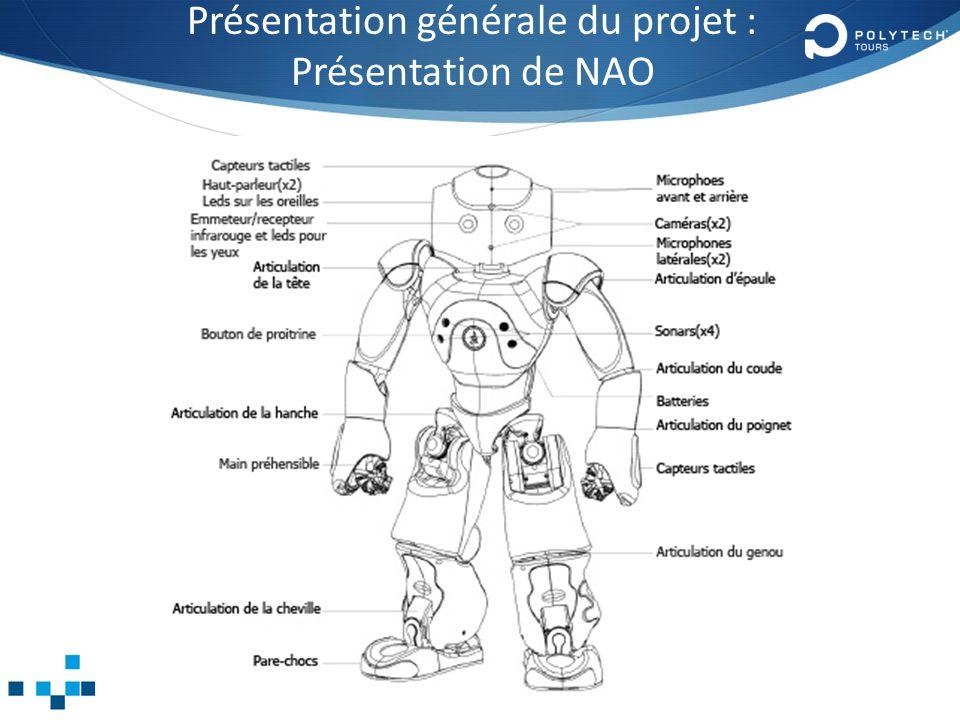 Présentation générale du projet : Présentation de NAO