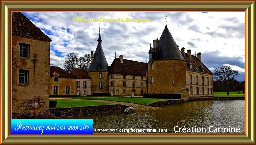 Création Carminé Château de Commarin, Bourgogne carmifioren@gmail.com