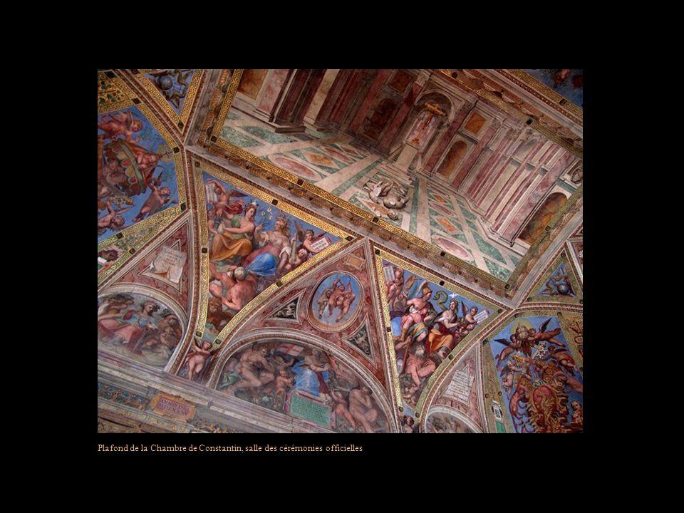 Plafond de la Chambre de Constantin, salle des cérémonies officielles