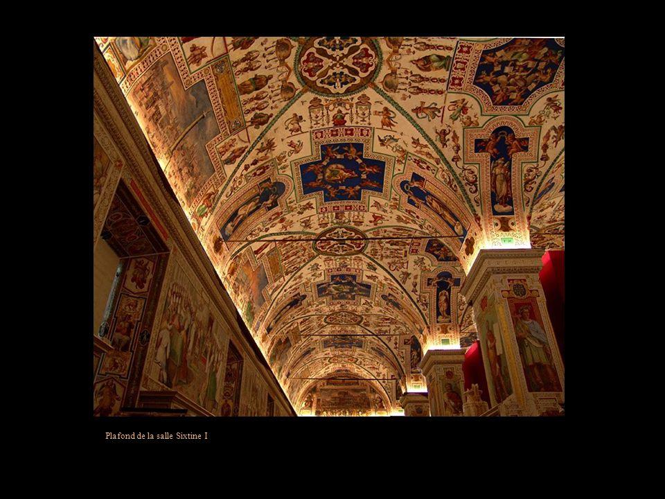 Plafond de la salle Sixtine I