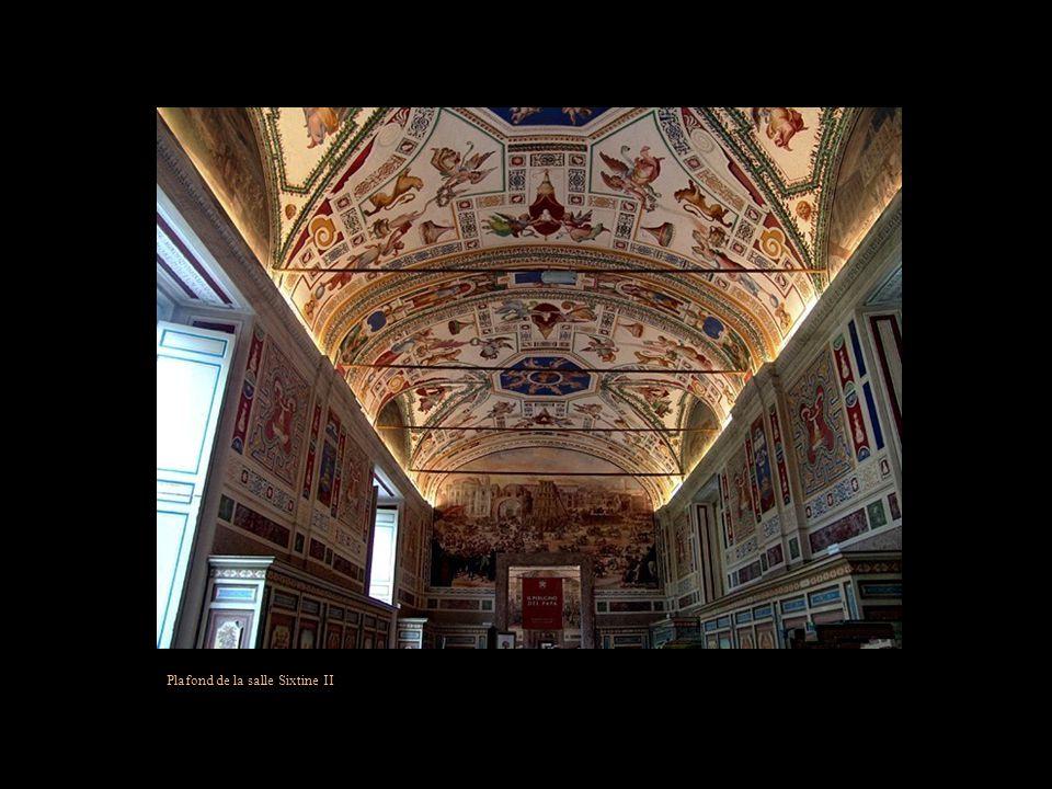Plafond de la salle Sixtine II
