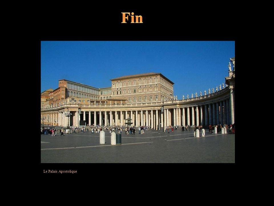 Fin Le Palais Apostolique