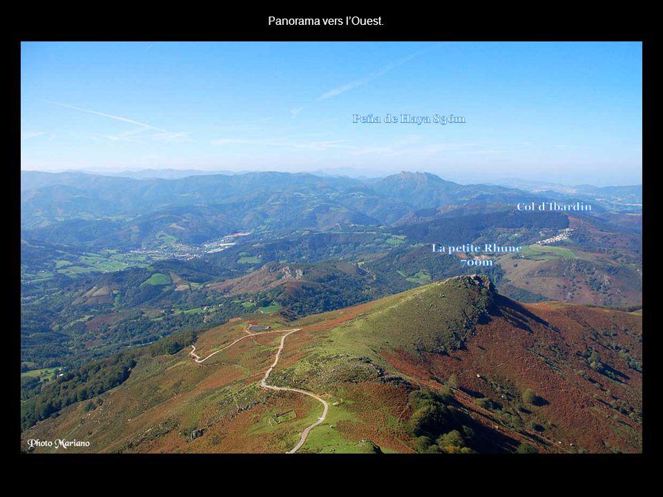 Peña de Haya 836m Col d'Ibardin La petite Rhune 700m