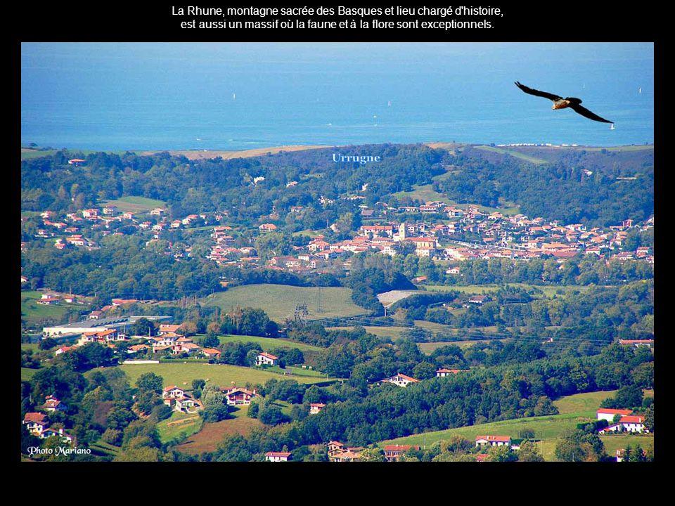 La Rhune, montagne sacrée des Basques et lieu chargé d histoire,