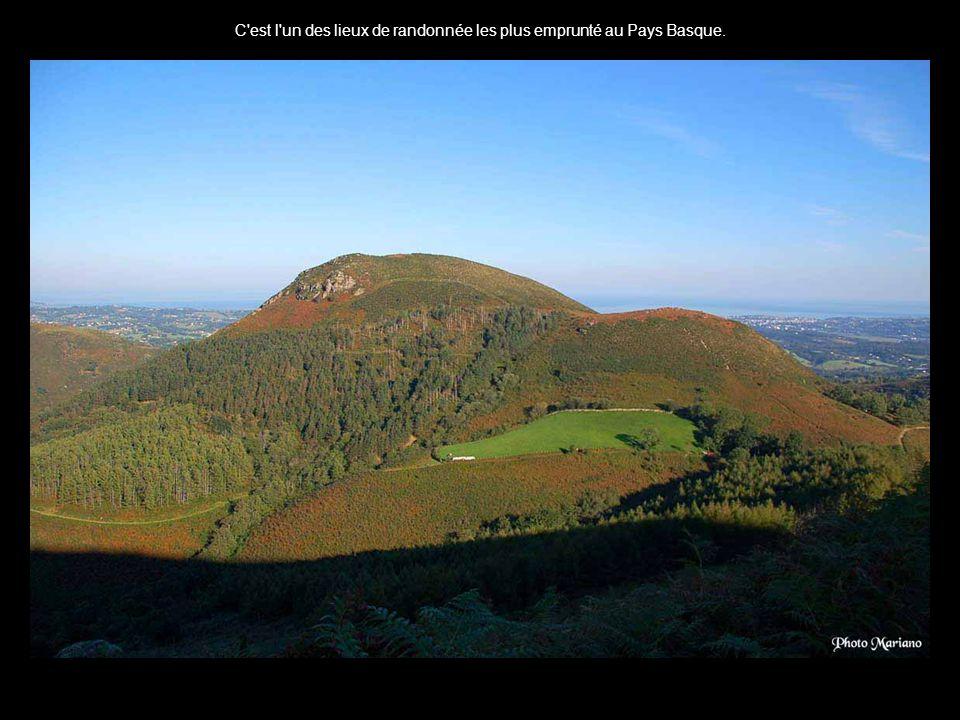 C est l un des lieux de randonnée les plus emprunté au Pays Basque.
