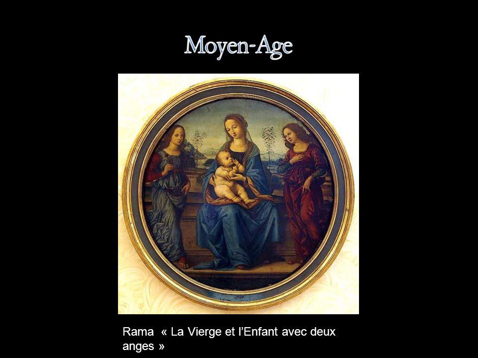 Rama « La Vierge et l'Enfant avec deux anges »