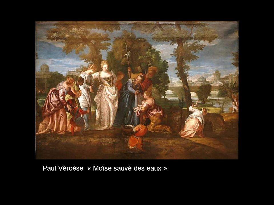 Paul Véroèse « Moïse sauvé des eaux »