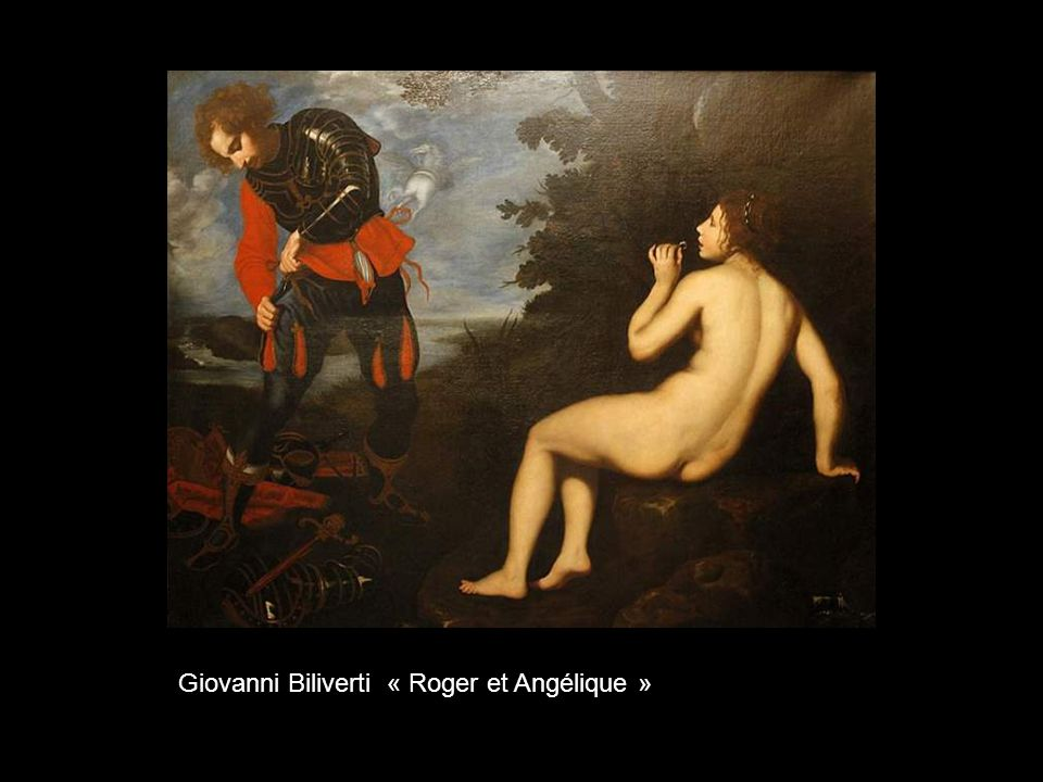 Giovanni Biliverti « Roger et Angélique »