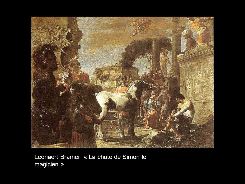 Leonaert Bramer « La chute de Simon le magicien »