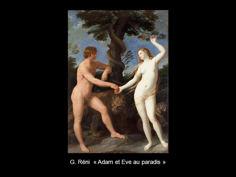 G. Réni « Adam et Eve au paradis »
