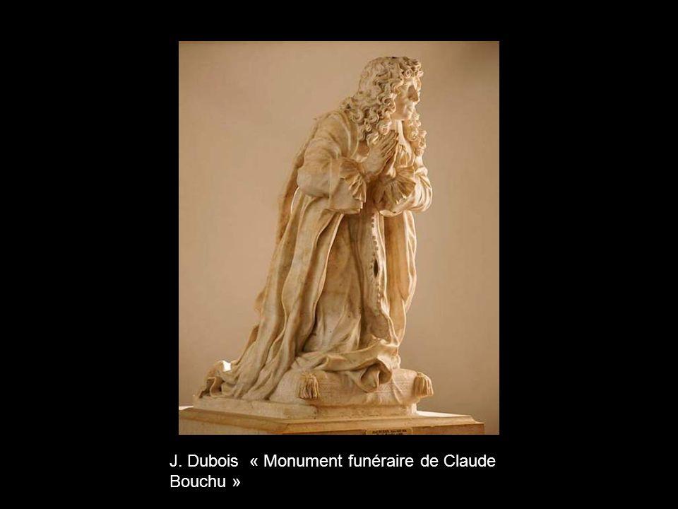 J. Dubois « Monument funéraire de Claude Bouchu »