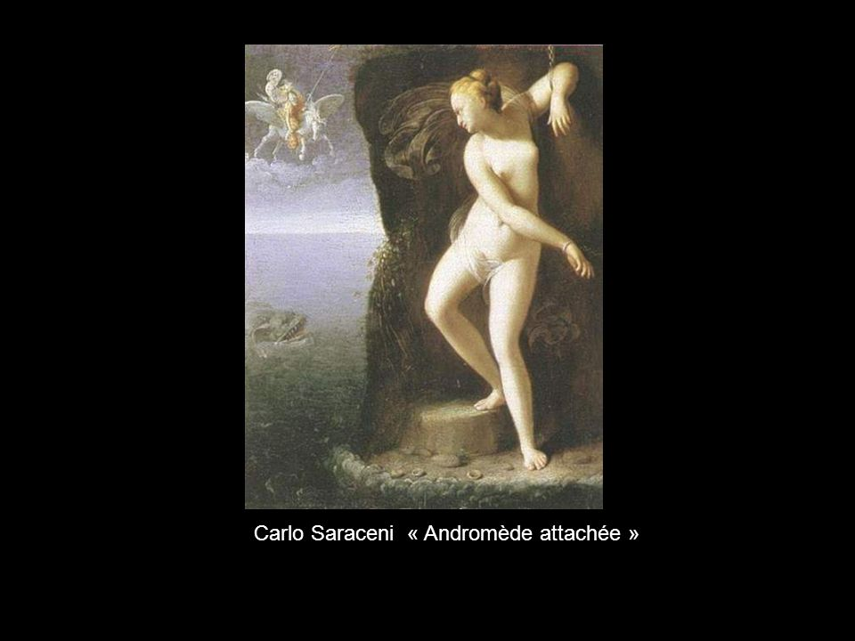 Carlo Saraceni « Andromède attachée »
