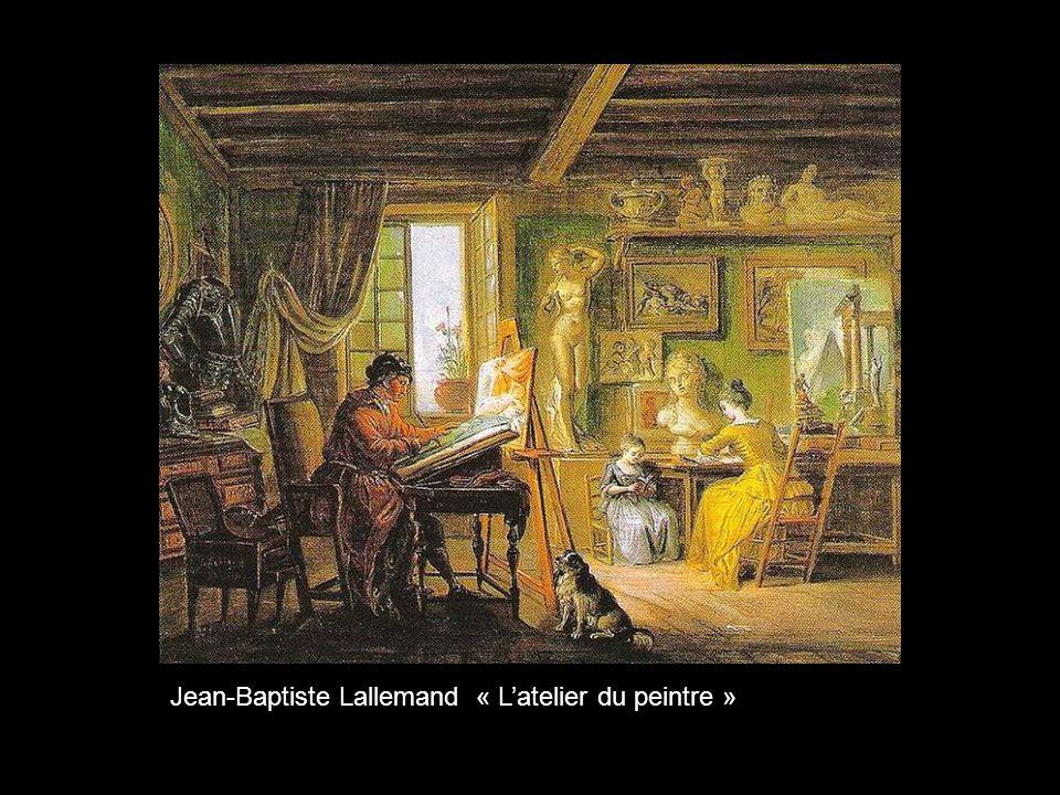 Jean-Baptiste Lallemand « L'atelier du peintre »