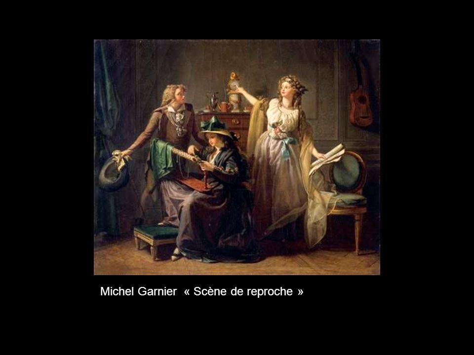 Michel Garnier « Scène de reproche »