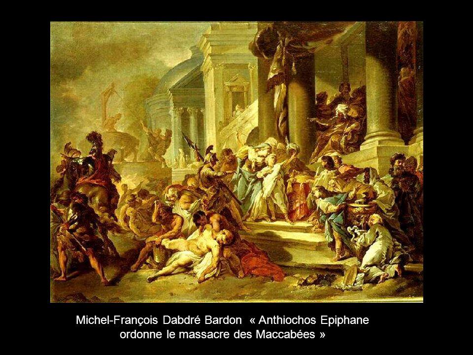 Michel-François Dabdré Bardon « Anthiochos Epiphane