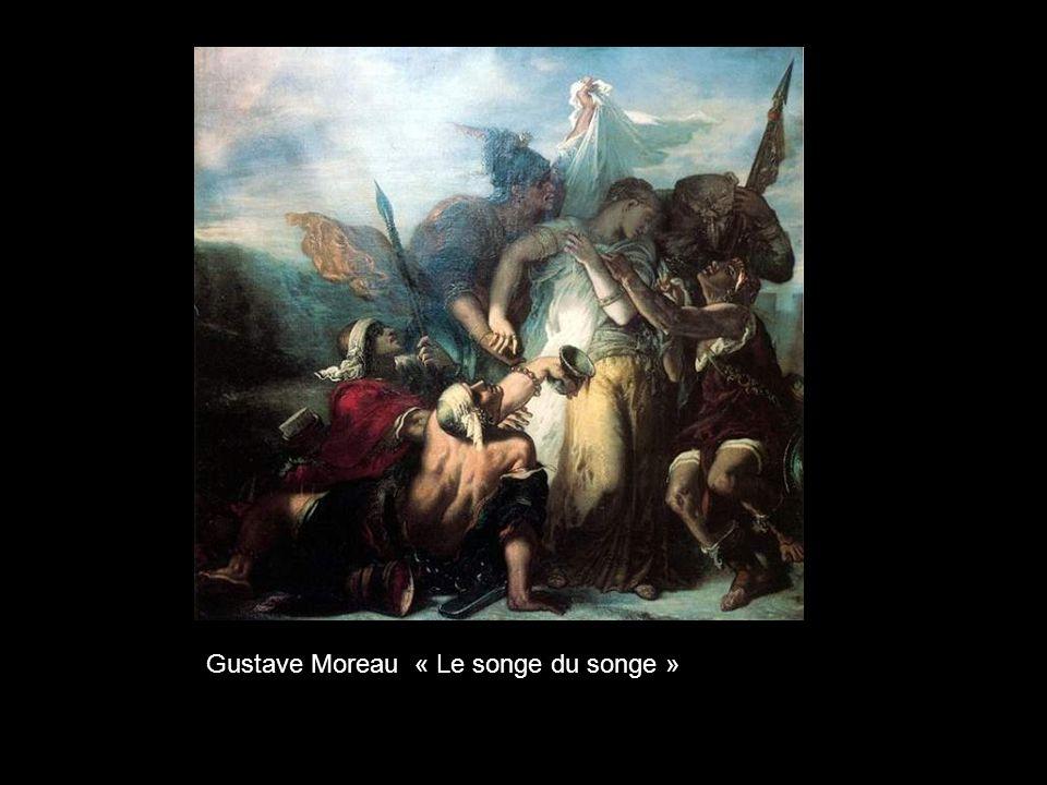 Gustave Moreau « Le songe du songe »