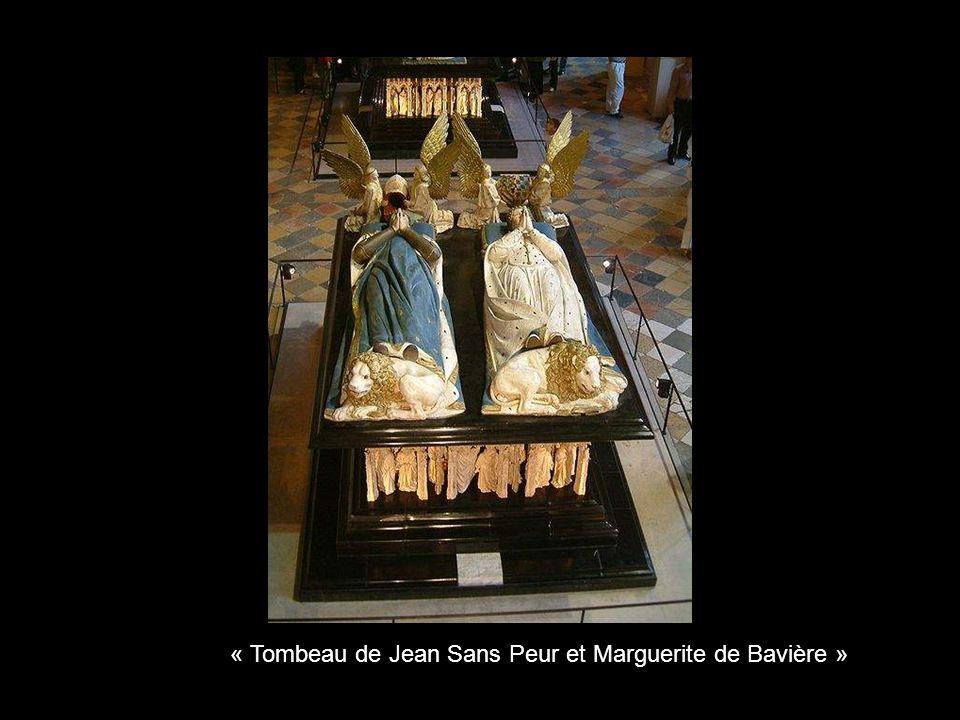 « Tombeau de Jean Sans Peur et Marguerite de Bavière »