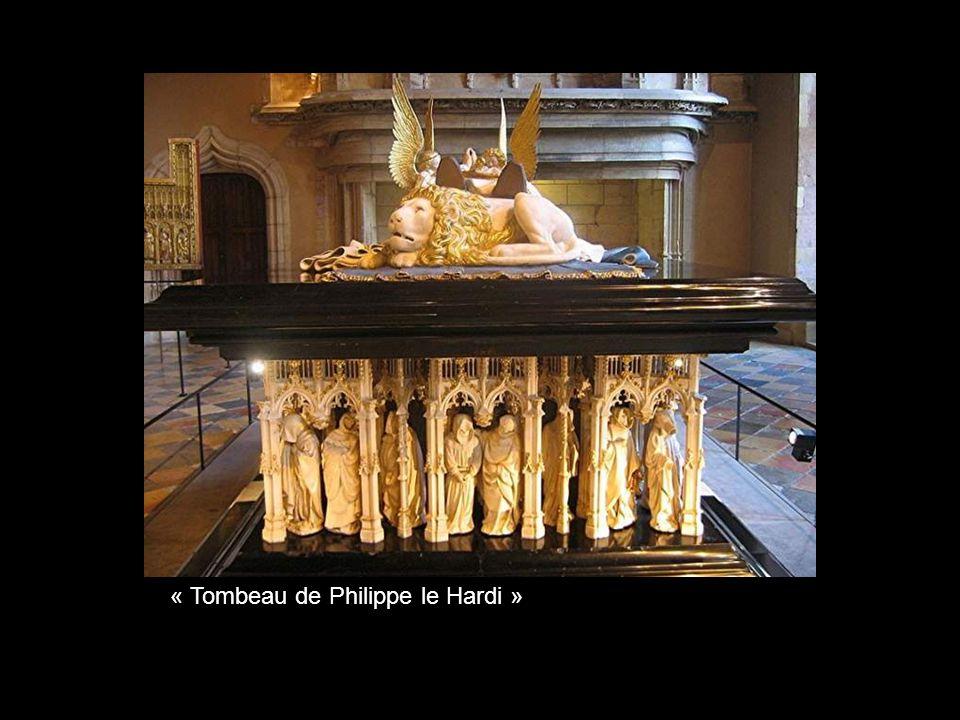 « Tombeau de Philippe le Hardi »