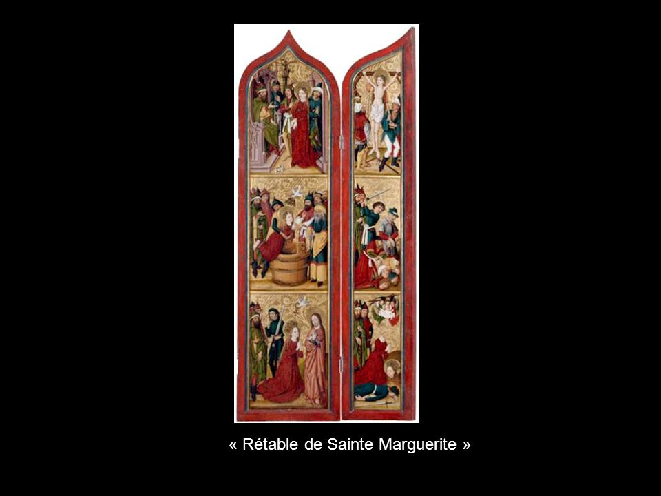 « Rétable de Sainte Marguerite »