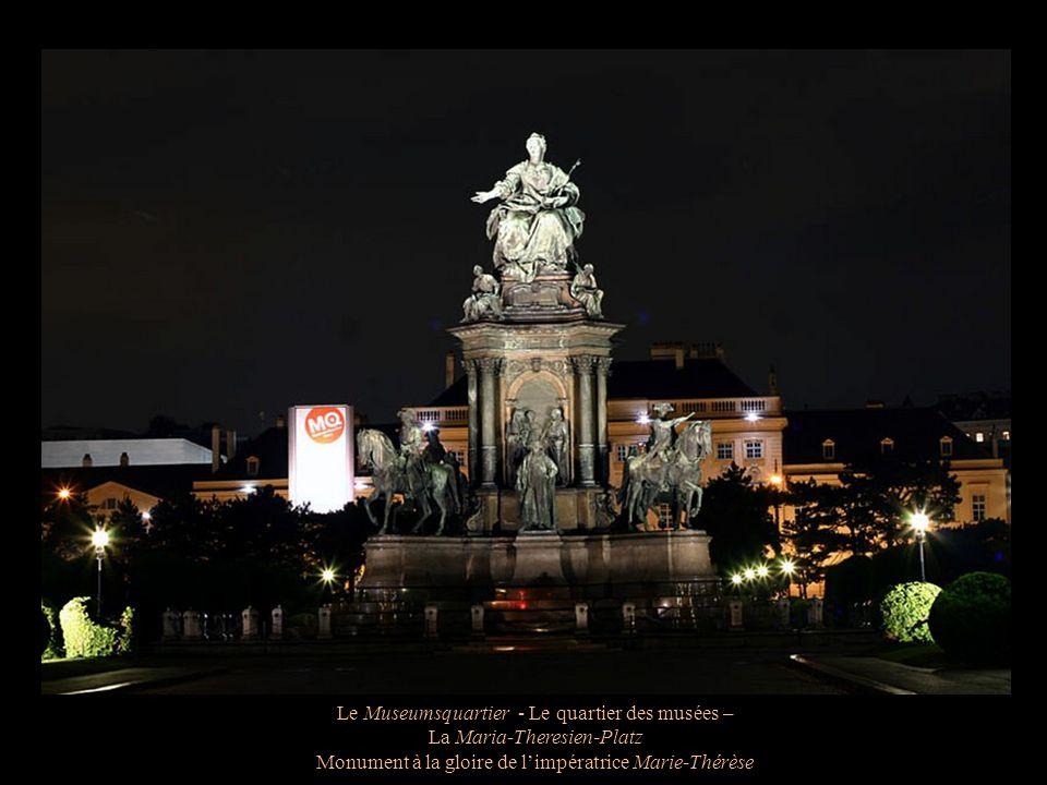 Le Museumsquartier - Le quartier des musées – La Maria-Theresien-Platz