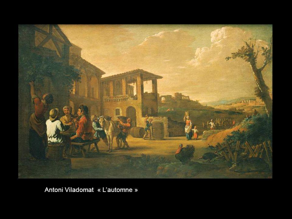 Antoni Viladomat « L'automne »