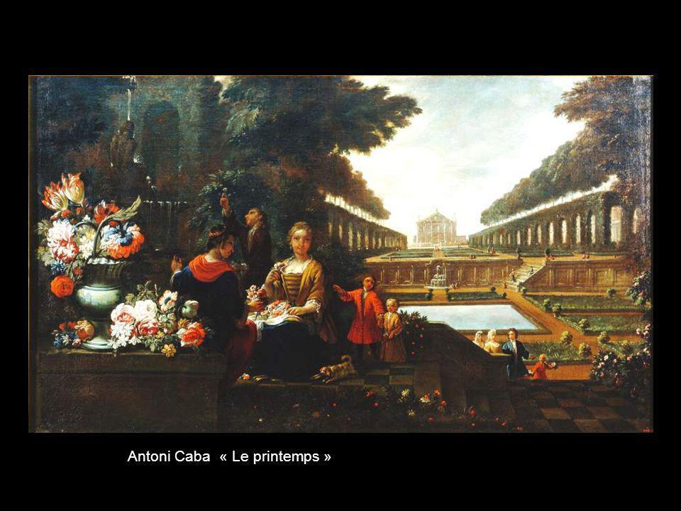 Antoni Caba « Le printemps »